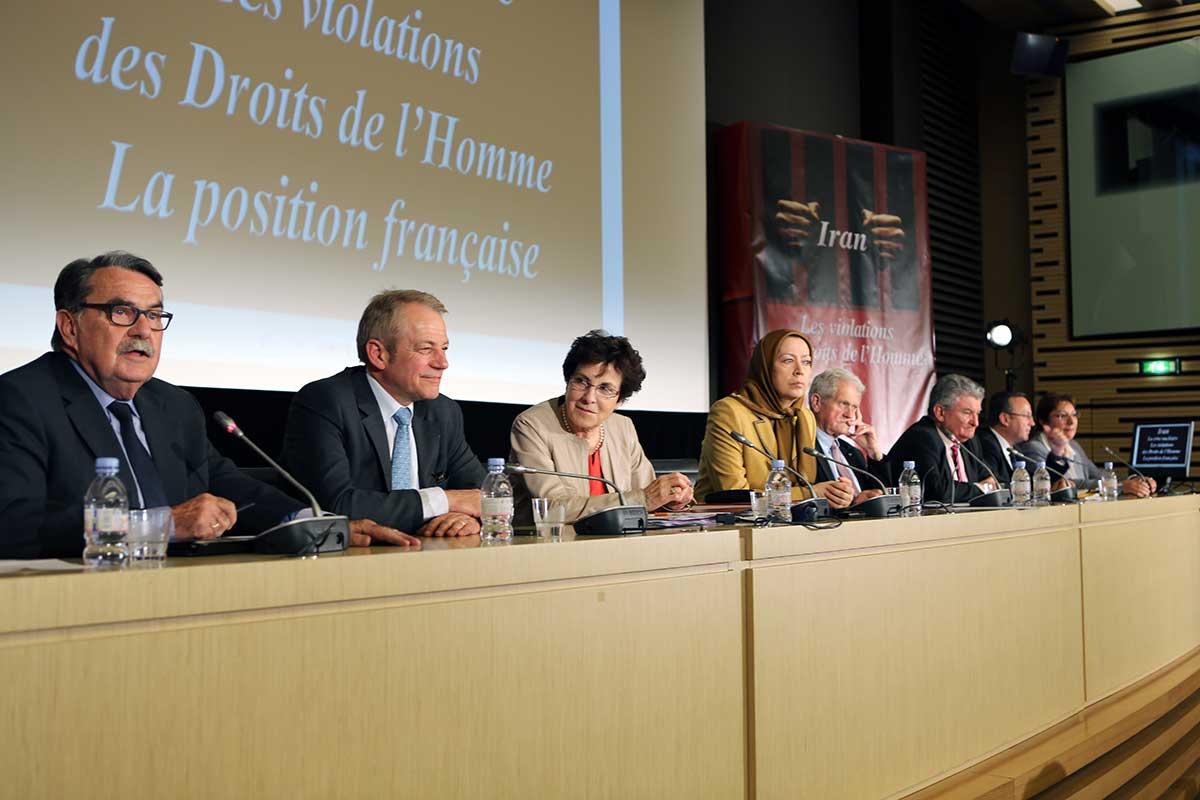 Sincères condoléances de Maryam Radjavi pour le décès du sénateur Jean-Pierre Michel