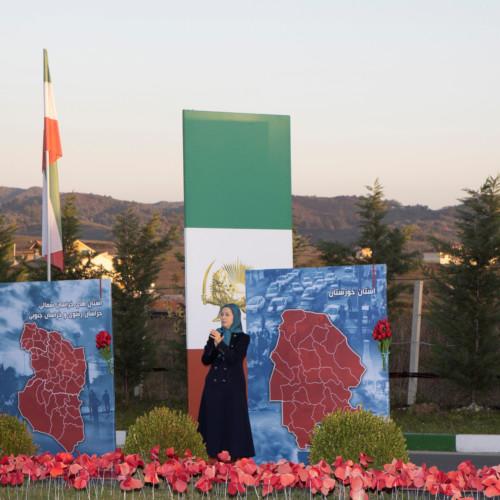 Maryam Radjavi à l'anniversaire du grand soulèvement de novembre 2019- 10 novembre 2020