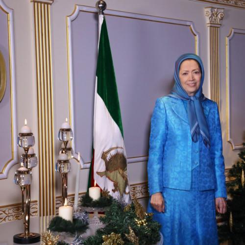 Message de Maryam Radjavi pour Noël et la nouvelle année 2021