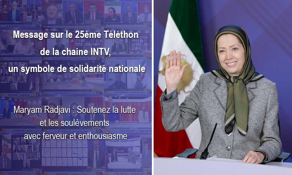 Message sur le 25ème Téléthon de la chaine INTV, un symbole de solidarité nationale