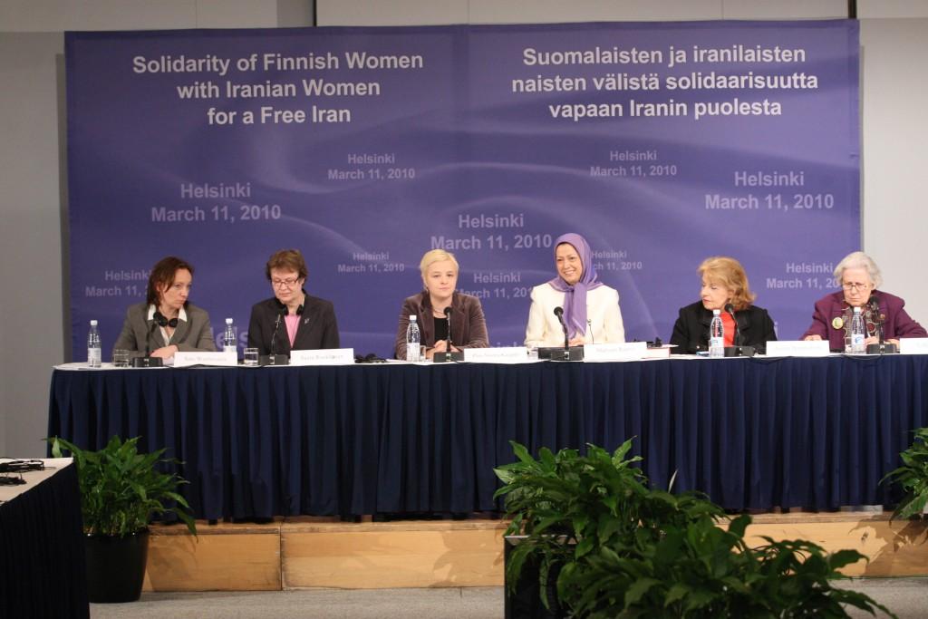 Réunion de solidarité des femmes finlandaises et iraniennes