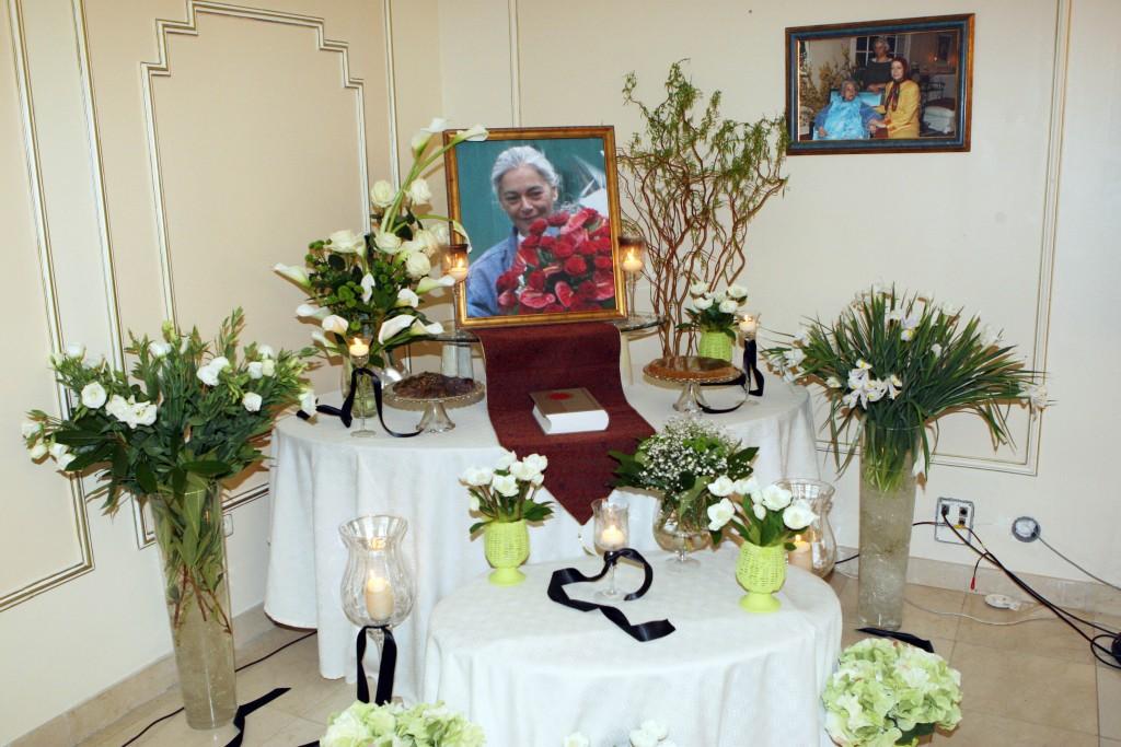 Message de condoléance adressé à la Diva de l'Iran Marzieh