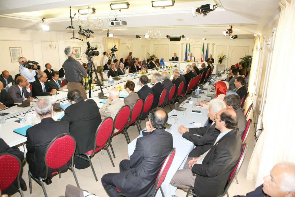 Session semestrielle du Conseil National de la Résistance iranienne