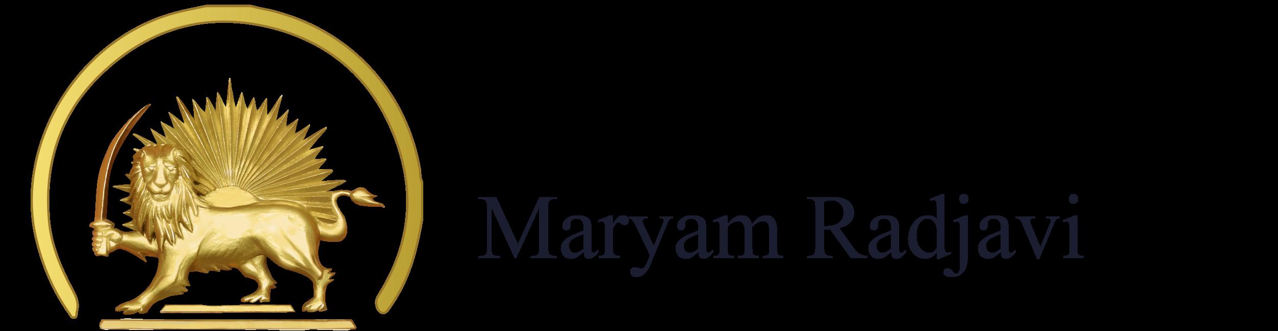 Logo Maryam Radjavi
