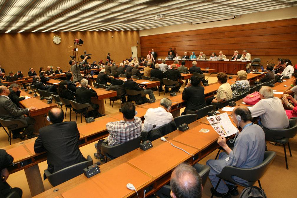 Discours au siège de l'ONU à Genève