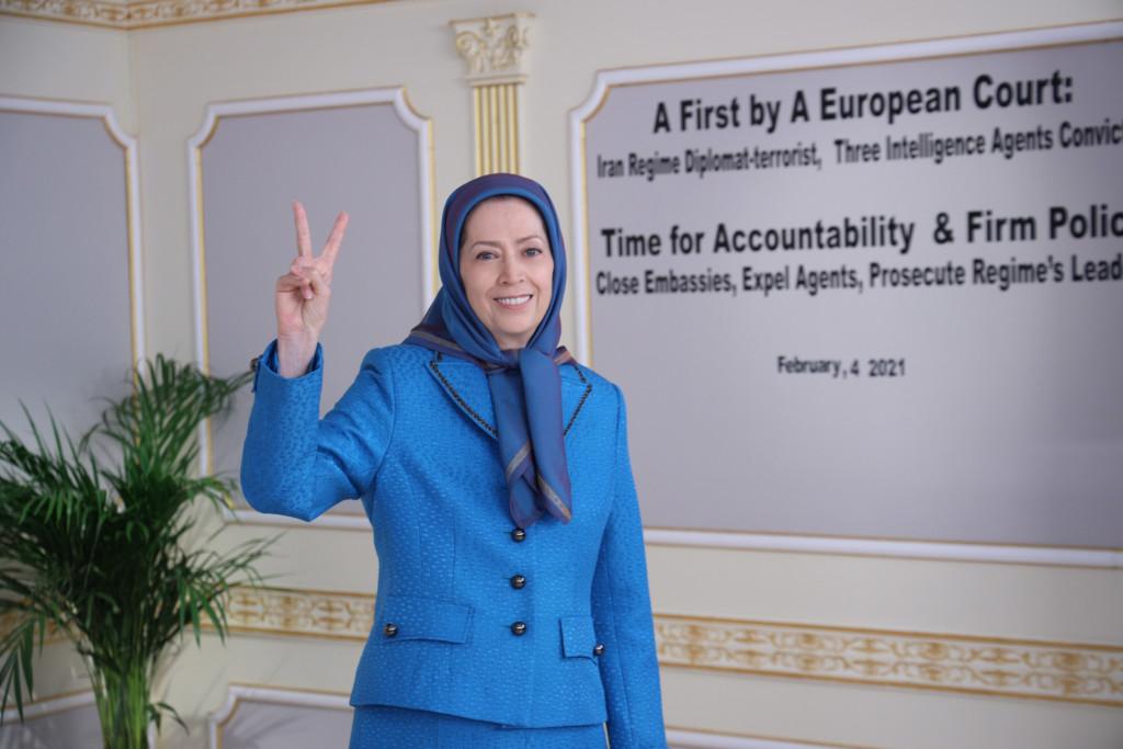 Conférence internationale parallèlement à la condamnation du diplomate terroriste du régime iranien par un tribunal européen