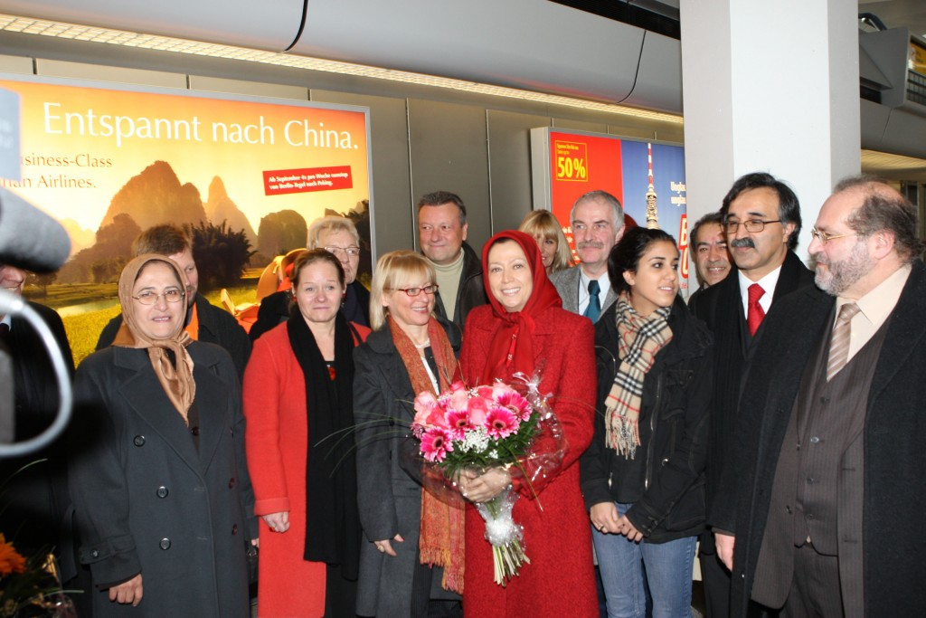 Maryam Radjavi à Berlin