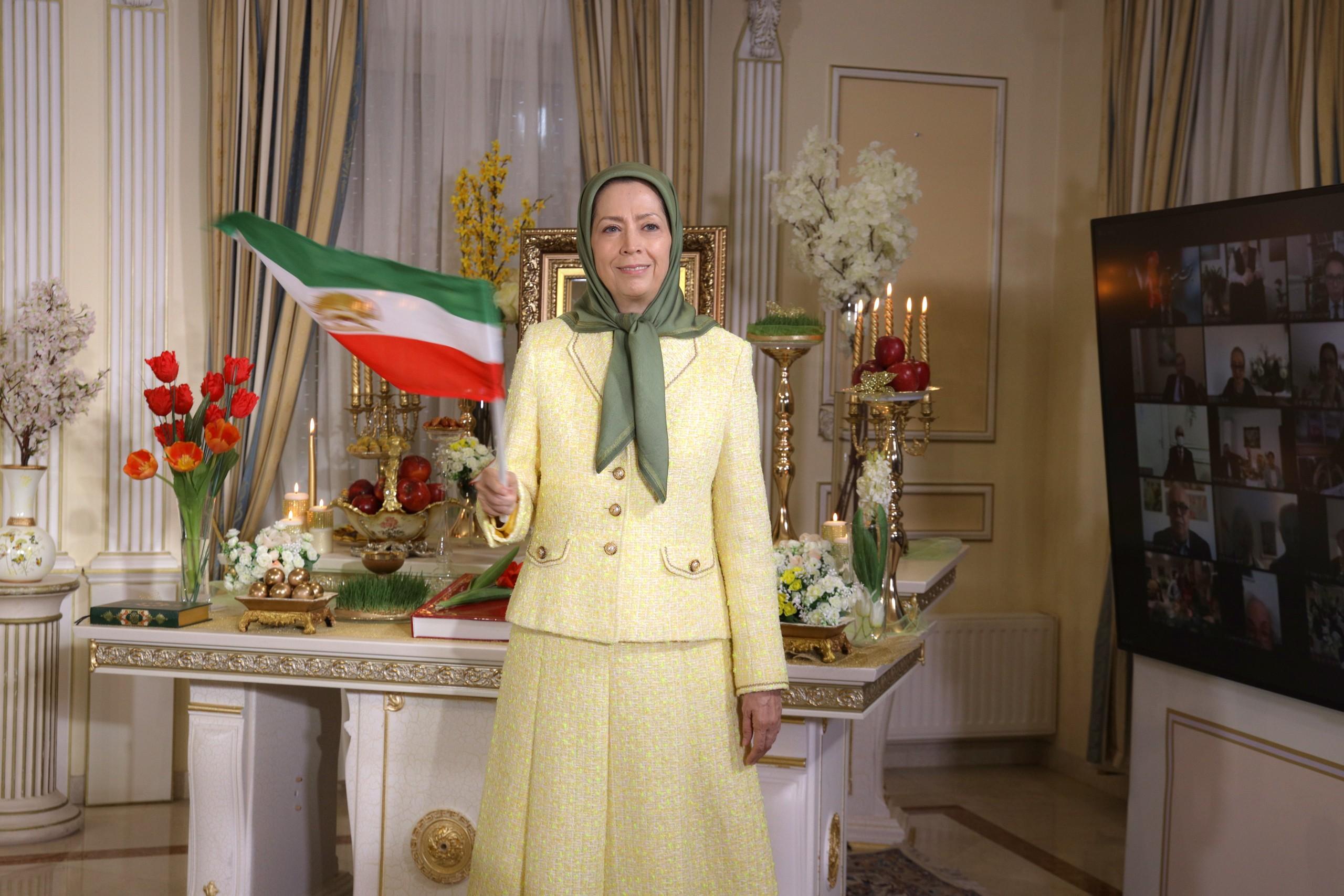 Maryam Radjavi : Norouz annonce le soulèvement qui renversera la tyrannie religieuse en Iran