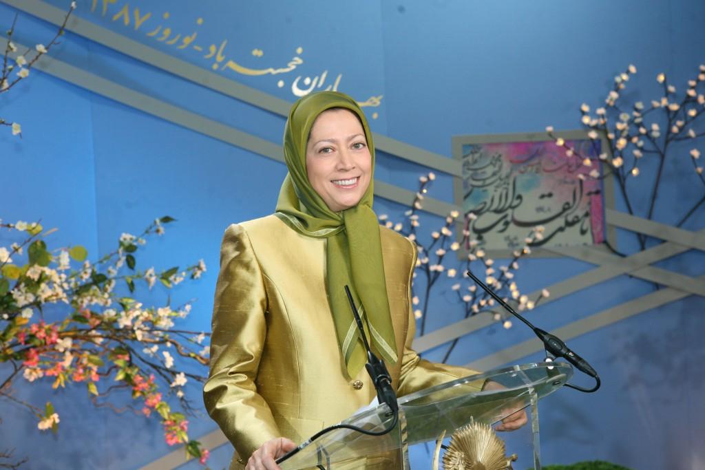 Norouz : «La Résistance iranienne est la force du changement »