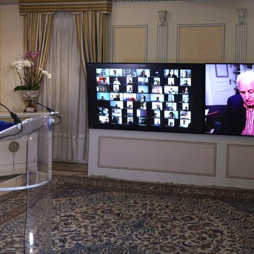 Discours de Sid Ahmed Ghozali, ancien premier ministre algérien, à la conférence de solidarité arabo-musulmane avec le peuple iranien et sa Résistance.