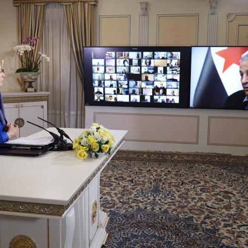 Discours de Nazir Hakim, ancien secrétaire général de la Coalition nationale syrienne, à la conférence de solidarité arabo-musulmane avec le peuple iranien et sa Résistance.