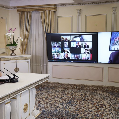 Le député Hervé Saulignac, vice-président du CPID, à la conférence en ligne du Comité parlementaire pour un Iran Démocratique