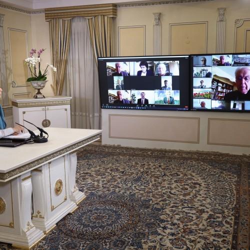 Le député-maire honoraire, Emile Blessig, ancien président du CPID, à la conférence en ligne du Comité parlementaire pour un Iran Démocratique