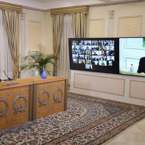 Discours du Dr Saleh Radjavi, président de la commission de la Santé, lors de la session intermédiaire du CNRI