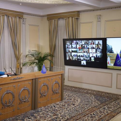 Discours de Mohammad Sheikhi, président de la commission de l'enseignement supérieur, lors de la session intermédiaire du CNRI