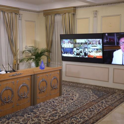 Discours de Parviz Khazai, représentant du CNRI dans les pays nordiques, lors de la session intermédiaire du CNRI
