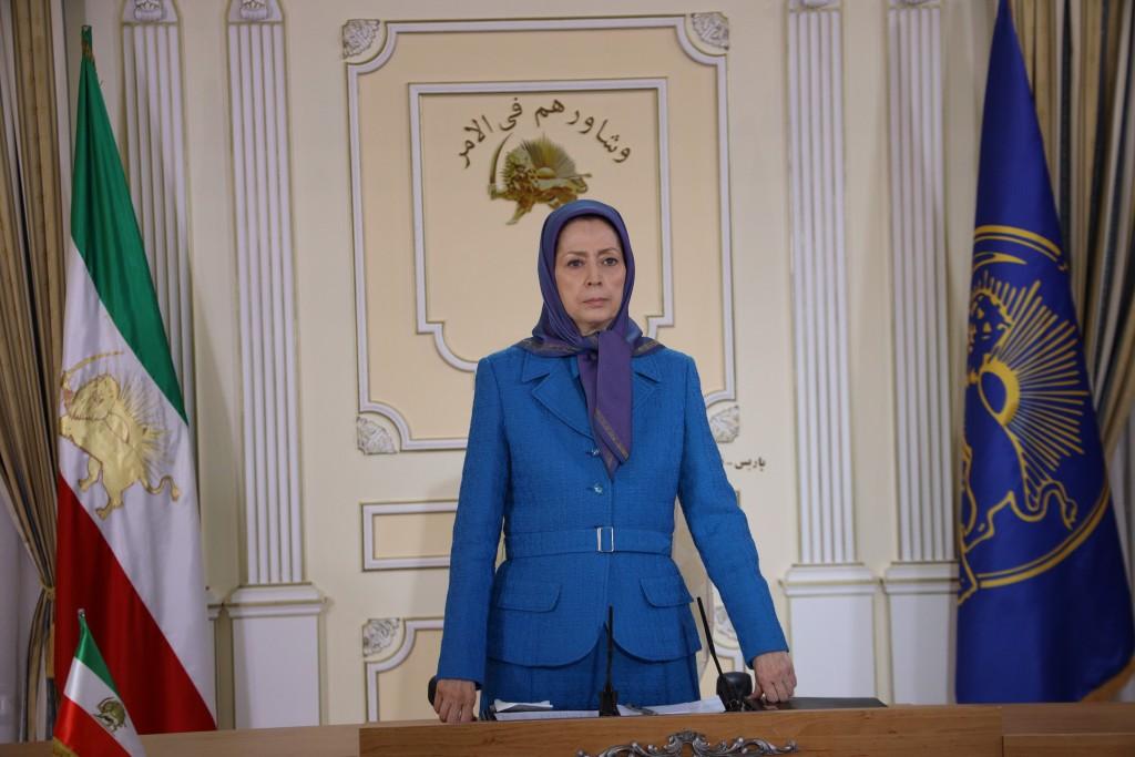 Maryam Radjavi : La société iranienne est dans un état insurrectionnel, la seule alternative démocratique resplendit