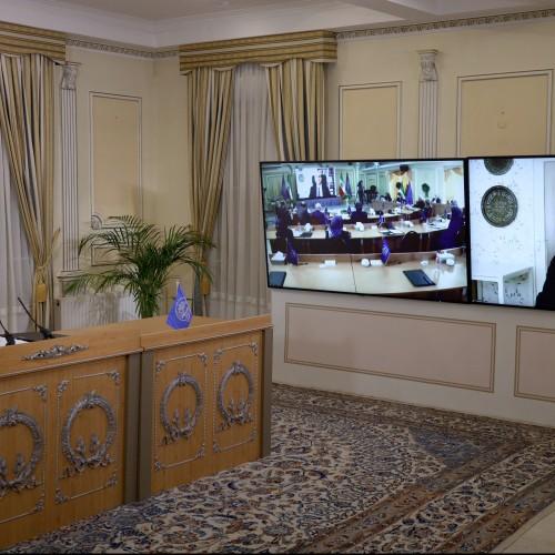 Discours d'Aziz Paknejad lors de la session intermédiaire du CNRI