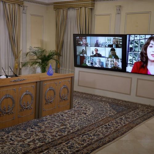 Discours de Sofi Saïdi lors de la session intermédiaire du CNRI