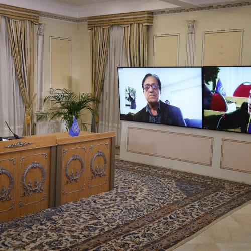 Discours de Hamid-Reza Taherzadeh lors de la session intermédiaire du CNRI