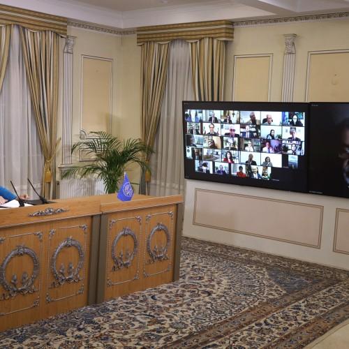 Discours du commandant Hossein Eskandarian lors de la session intermédiaire du CNRI