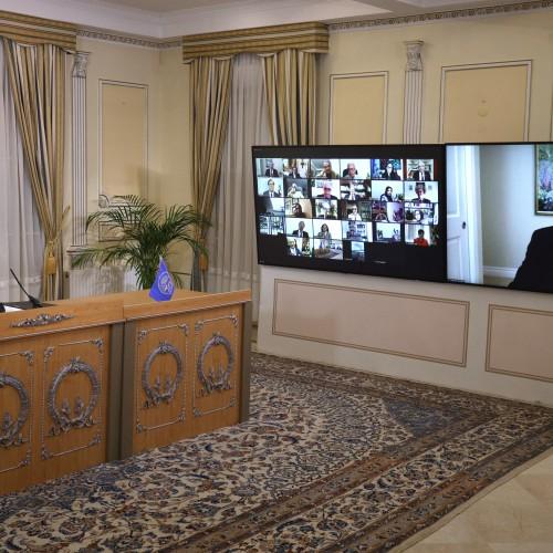 Discours de Hossein Jahansouz lors de la session intermédiaire du CNRI