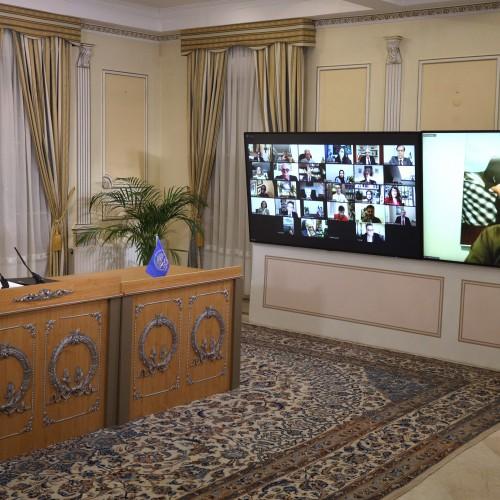 Discours de Kak Baba Sheikh Hosseini, secrétaire général de l'organisation Khebat du Kurdistan d'Iran, lors de la session intermédiaire du CNRI