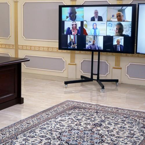 Conférence en ligne de Maryam Radjavi avec des eurodéputés – Avril 2021
