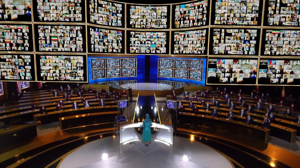 Discours de Maryam Radjavi au second jour du sommet mondial en ligne pour un Iran libre