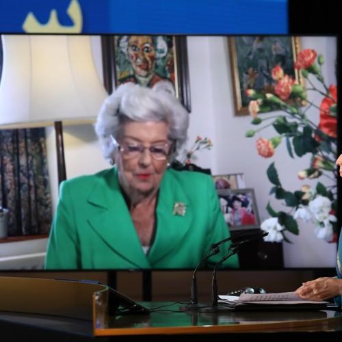 Discours de la Baronne Betty Boothroyd, ancienne Présidente de la Chambre des Communes de la Grande-Bretagne, au second jour du sommet mondial en ligne pour un Iran libre- L'Europe et le monde arabe aux côtés de la Résistance - 11 juillet 2021