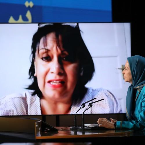 Discours de la Baronne Sandy Verma, ancienne adjointe du secrétaire d'Etat pour le Développement international au Parlement britannique, au second jour du sommet mondial en ligne pour un Iran libre- L'Europe et le monde arabe aux côtés de la Résistance - 11 juillet 2021