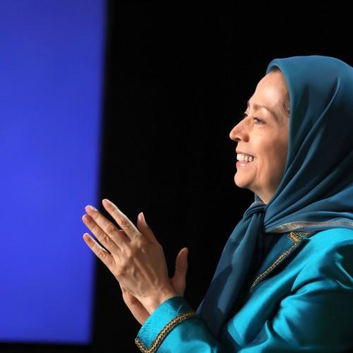 Maryam Radjavi au second jour du sommet mondial en ligne pour un Iran libre – L'Europe et le monde arabe aux côtés de la Résistance - 11 juillet 2021