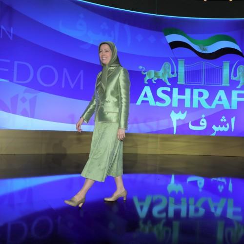 Maryam Radjavi au premier jour du sommet mondial pour un Iran Libre – L'alternative démocratique en marche vers la victoire- 10 juillet 2021