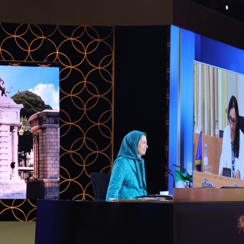 Session intermédiaire du Conseil national de la Résistance iranienne - juillet 2021
