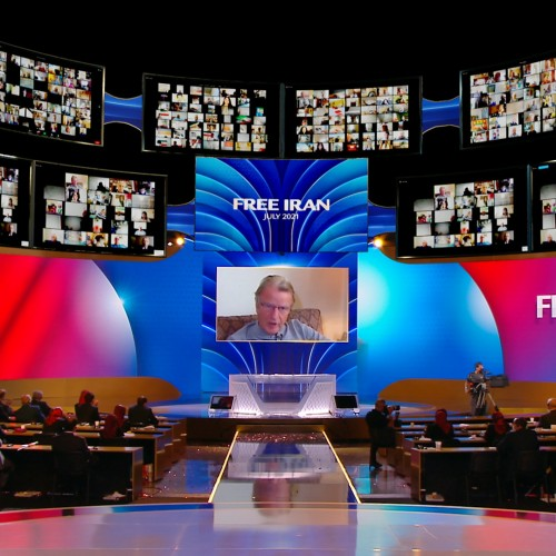 Discours de Bernard Kouchner, ministre français des Affaires étrangère (2007-2010) - premier jour du sommet mondial pour un Iran Libre – L'alternative démocratique en marche vers la victoire- 10 juillet 2021