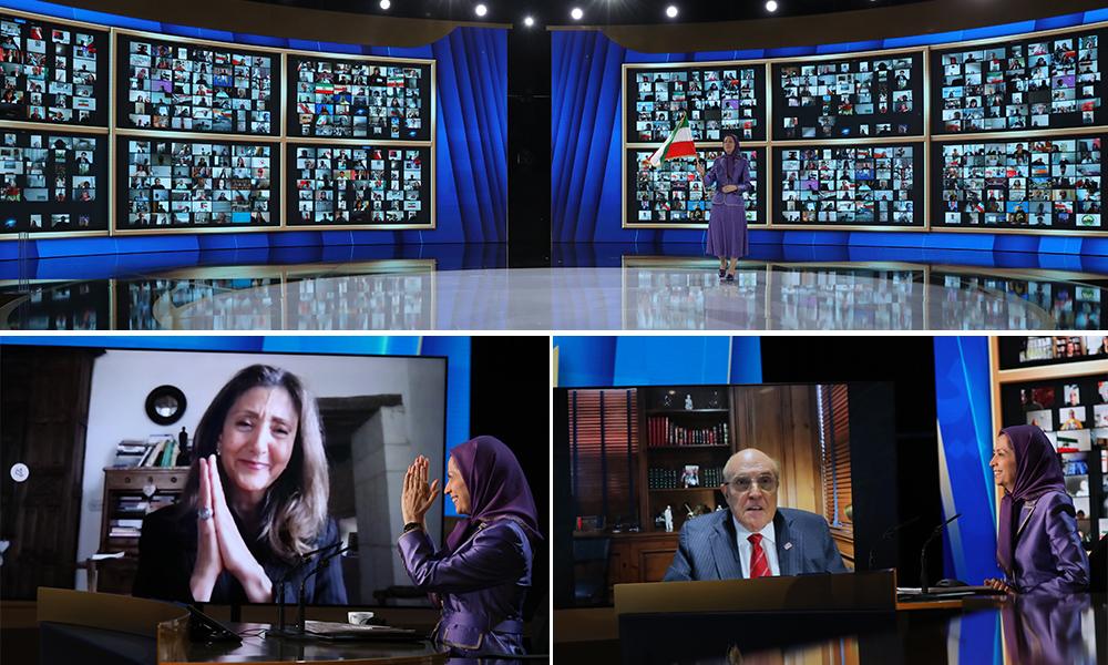 Maryam Radjavi : C'est un test pour la communauté internationale pour savoir si elle va traiter avec un régime génocidaire ou si elle va se tenir aux côtés du peuple iranien