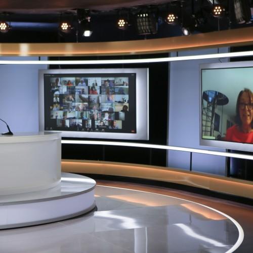 Maryam Radjavi- Conférence internationale en ligne en présence de plus d'un millier d'anciens prisonniers politiques- Génocide et massacre de 1988 en Iran- 27 aout 2021