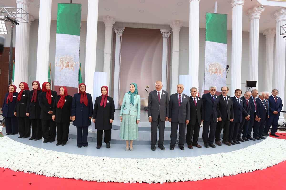 سخنرانی مریم رجوی در جشن سالگرد تاسیس سازمان مجاهدین در اشرف ۳