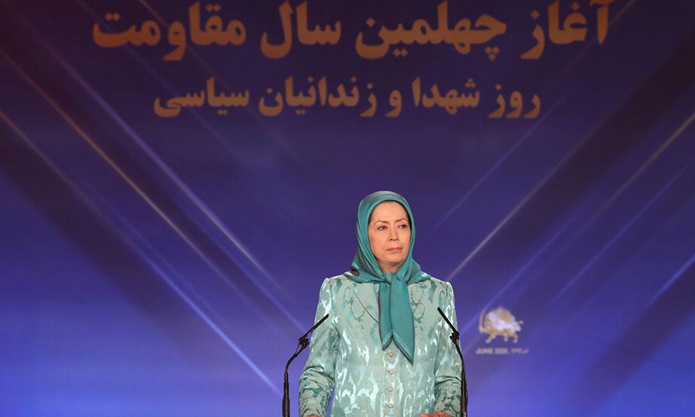 مریم رجوی: ۳۰ خرداد، دو سرنوشت و دو افق تاریخی را مرزبندی کرد