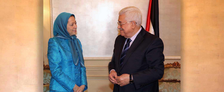 Meraym-Rajavi-President-of-the-Palestinian-Authority-Mahmoud-Abbas