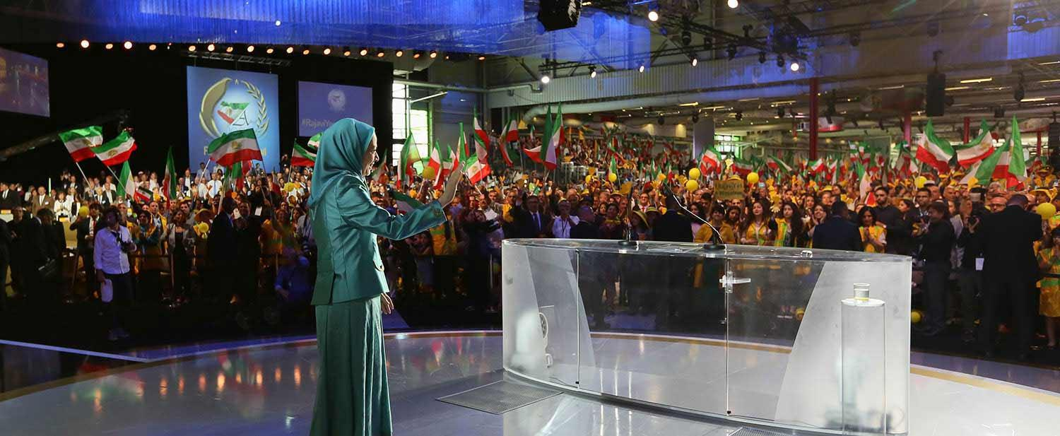 maryam-rajavi-Le-Bourget--Paris