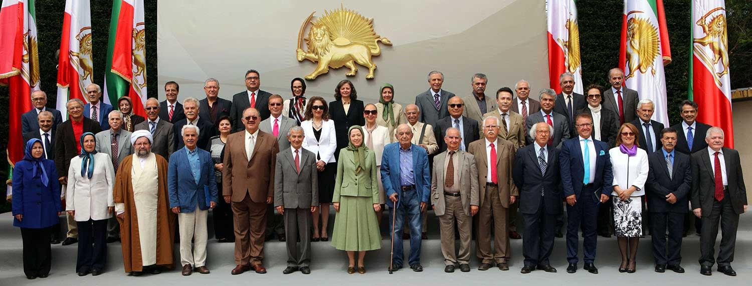 Meraym-Rajavi-The-Interim-session-of-the-National-Council-of-Resistance-of-Iran