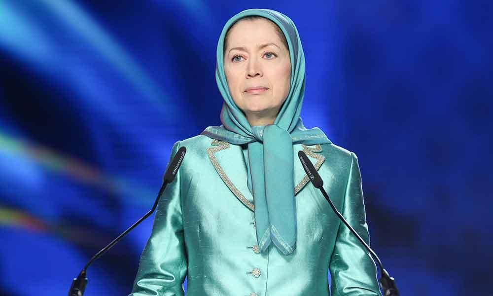مریم رجوی: ریاست جمهوری مجدد روحانی، شقه در رژیم آخوندی، تشدید بحران و جنگ قدرت