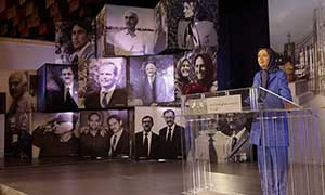 Maryam Rajavi at the ceremony commemorating those martyred in Ashraf on September 1 2013 September 1 2019