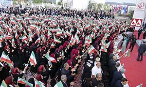 Maryam Rajavi at the founding anniversary of the Peoples Mojahedin Organization of Iran at Ashraf 3 September 2019