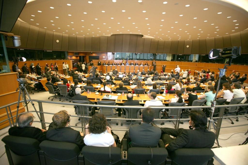 پارلمان اروپا – استراسبورگ -اردیبهشت ۱۳۸۷