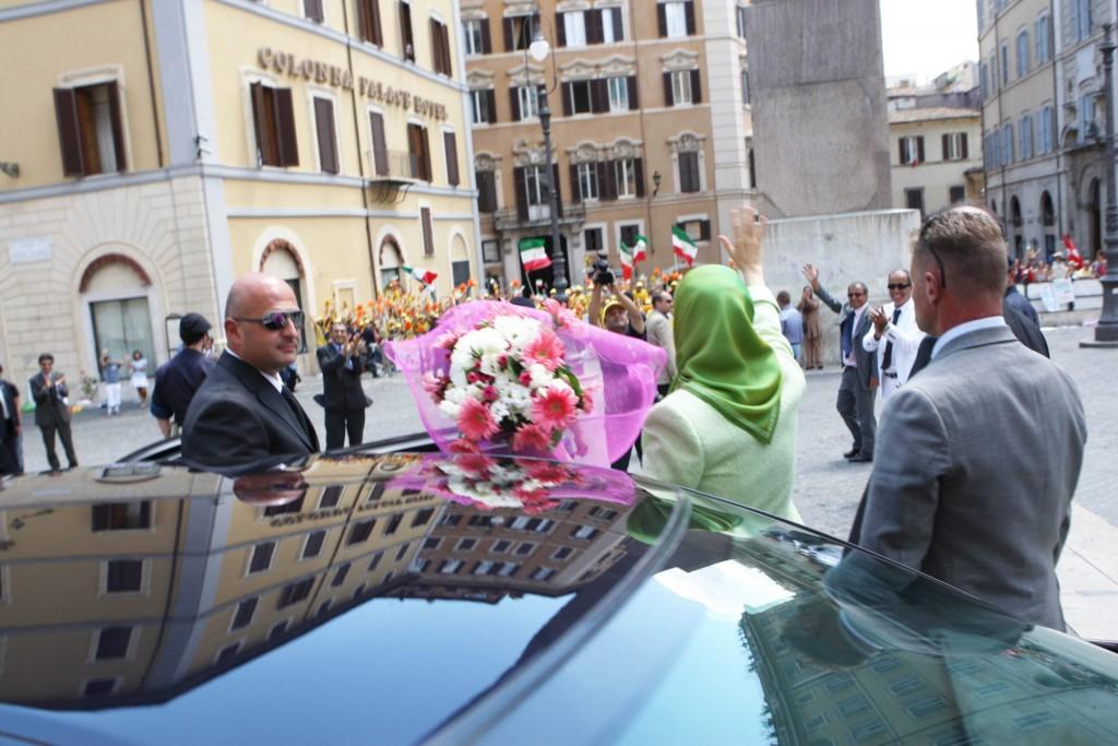 سخنان در جمع ایرانیان آزاده مقیم ایتالیا