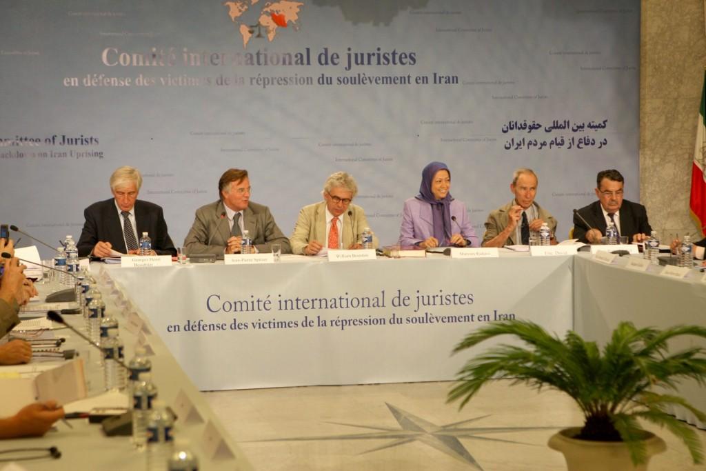 تشکیل کمیته بینالمللی حقوقدانان در دفاع از قربانیان سرکوب قیام مردم ایران