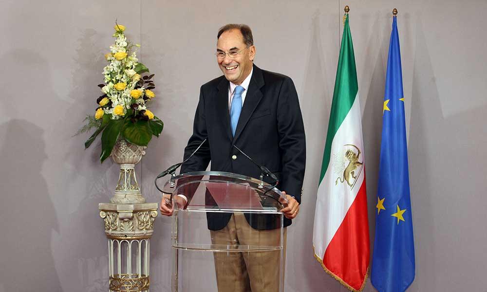 دیدار با نایب رئیس پارلمان اروپا آقای ویدال كوادراس