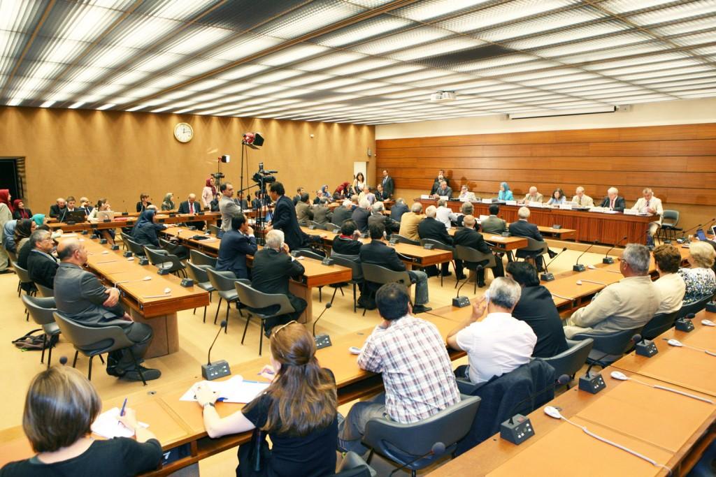 سخنرانی در مقر اروپایی سازمان ملل در ژنو